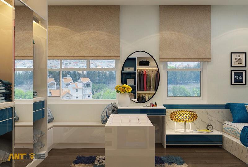 Thiết kế nội thất can hộ Lexington Residence 1 phòng ngủ 10