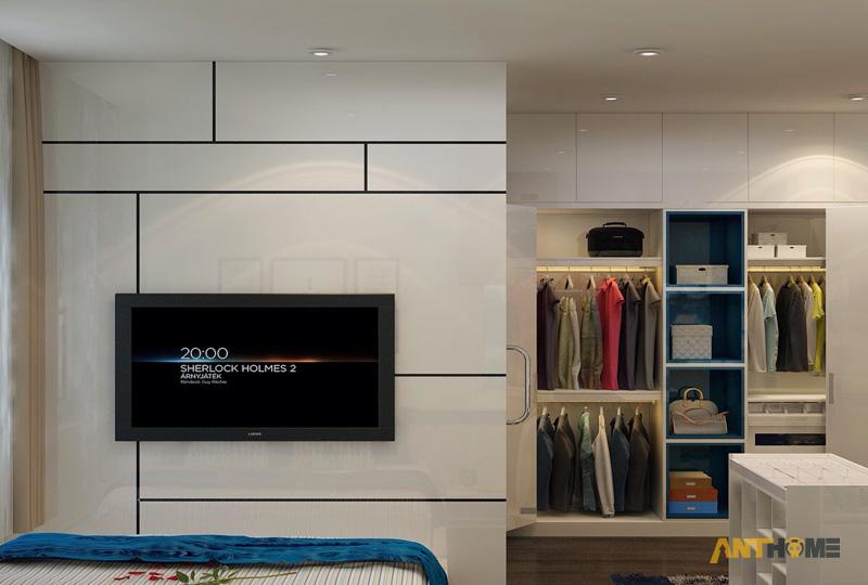 Thiết kế nội thất can hộ Lexington Residence 1 phòng ngủ 11