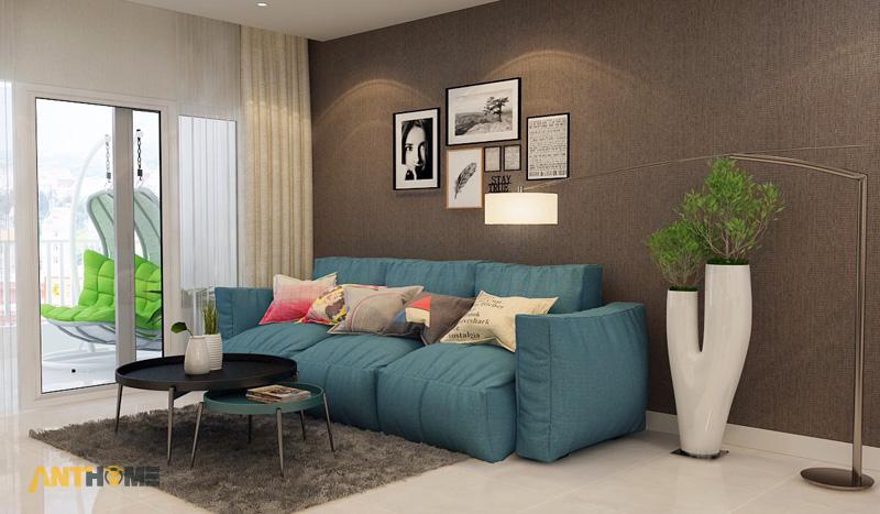 Thiết kế nội thất can hộ Lexington Residence 1 phòng ngủ 2