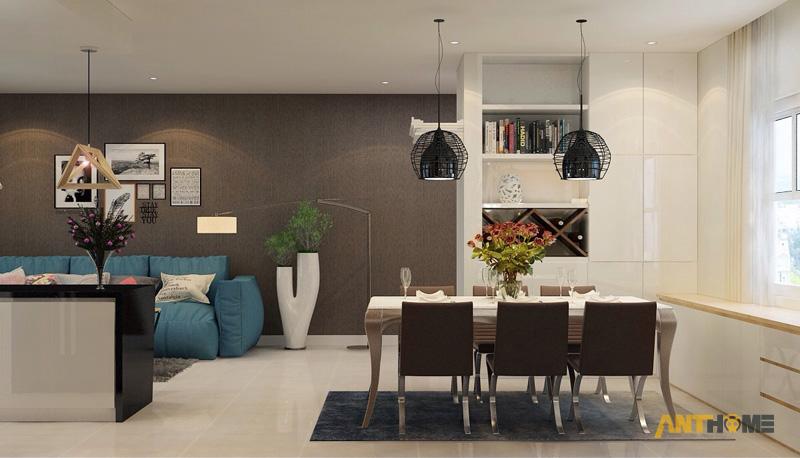 Thiết kế nội thất can hộ Lexington Residence 1 phòng ngủ 3