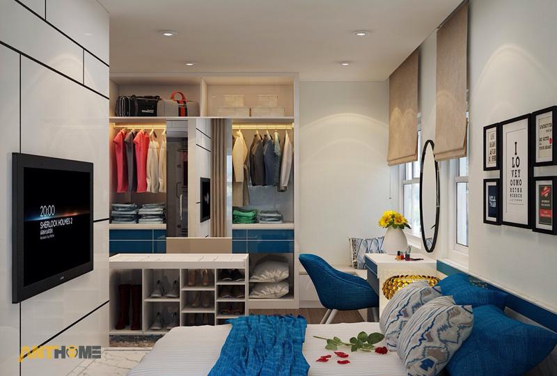 Thiết kế nội thất can hộ Lexington Residence 1 phòng ngủ 9