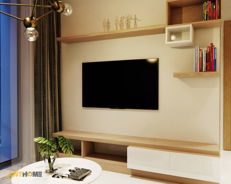 Thiết kế nội thất căn hộ M-One 2 phòng ngủ 2