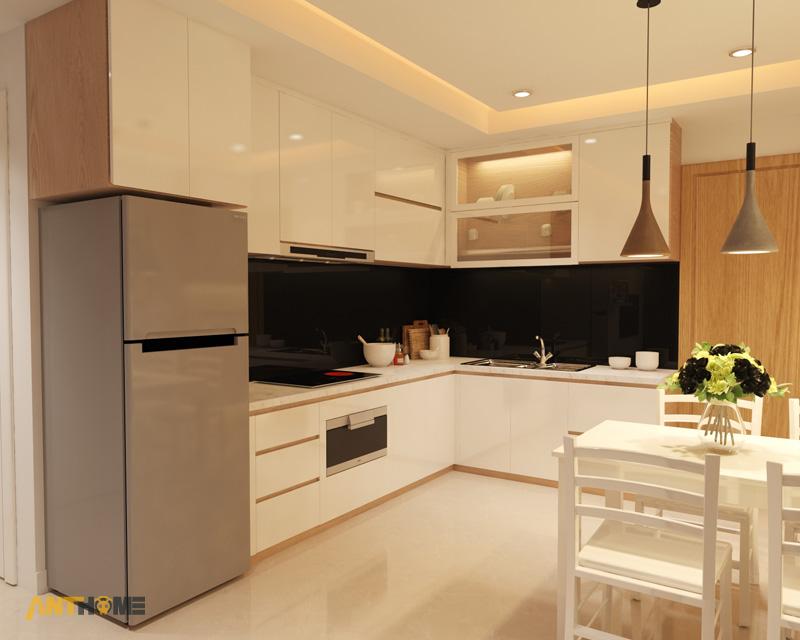 Thiết kế nội thất căn hộ M-One 2 phòng ngủ 3