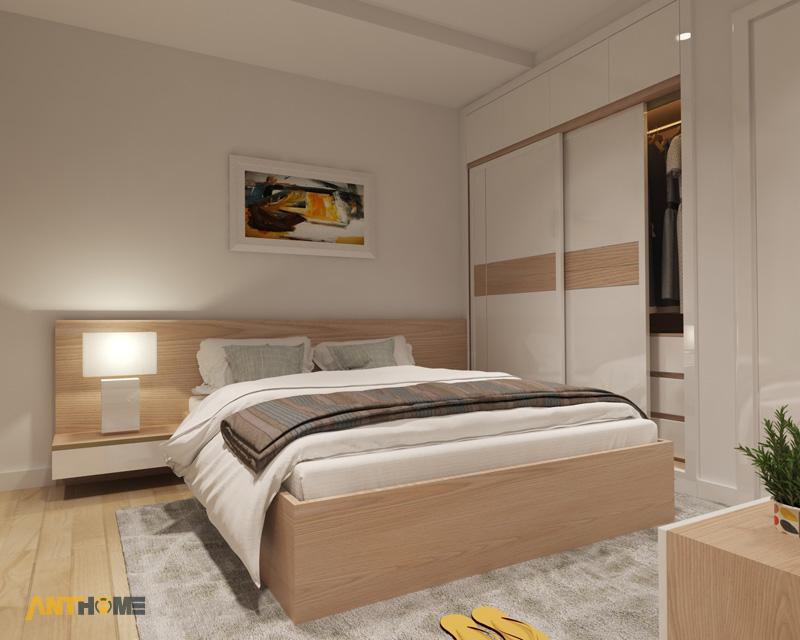 Thiết kế nội thất căn hộ M-One 2 phòng ngủ 4