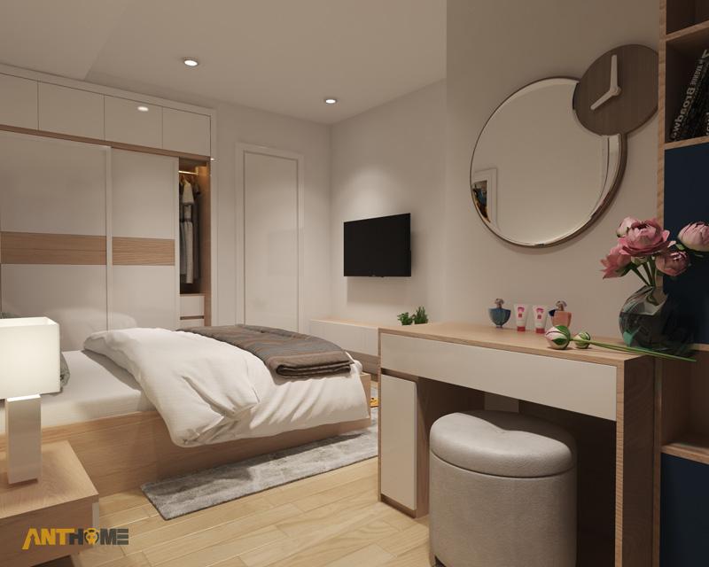 Thiết kế nội thất căn hộ M-One 2 phòng ngủ 5