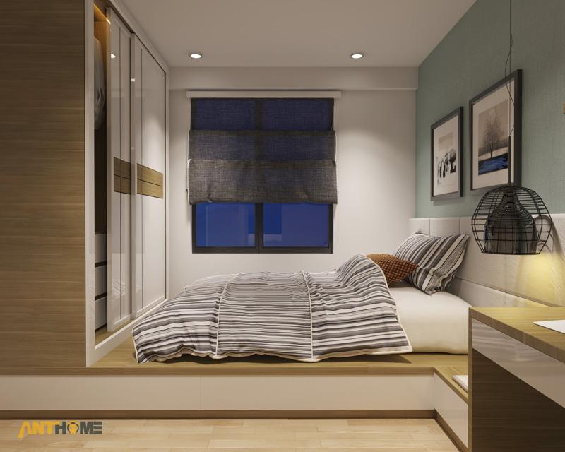 Thiết kế nội thất căn hộ M-One 2 phòng ngủ 6