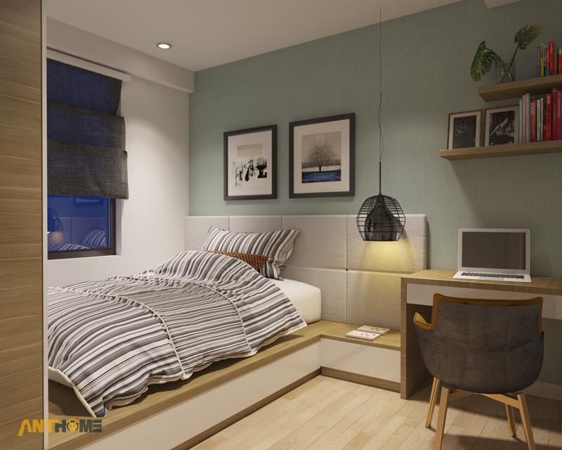 Thiết kế nội thất căn hộ M-One 2 phòng ngủ 7