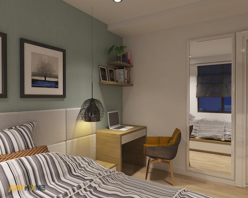 Thiết kế nội thất căn hộ M-One 2 phòng ngủ 8