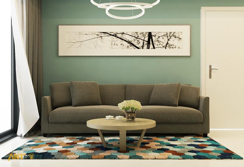 Thiết kế nội thất căn hộ Masteri Thảo Điền 2 phòng ngủ 1
