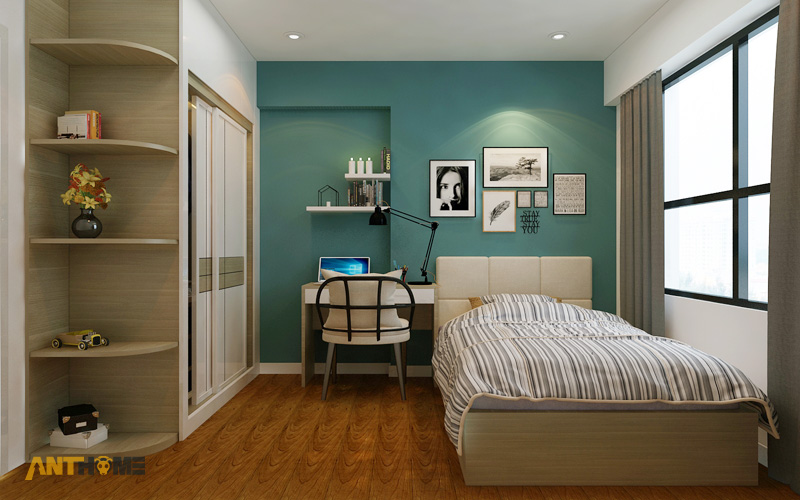 Thiết kế nội thất căn hộ Masteri Thảo Điền 2 phòng ngủ 14