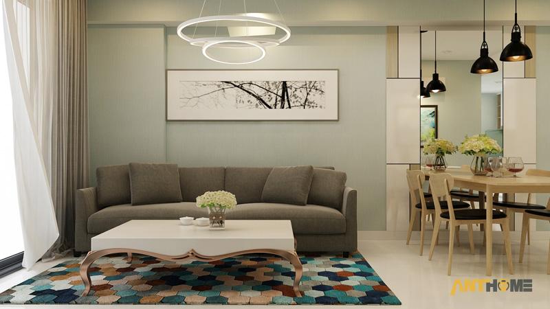 Thiết kế nội thất căn hộ Masteri Thảo Điền 65m2 2