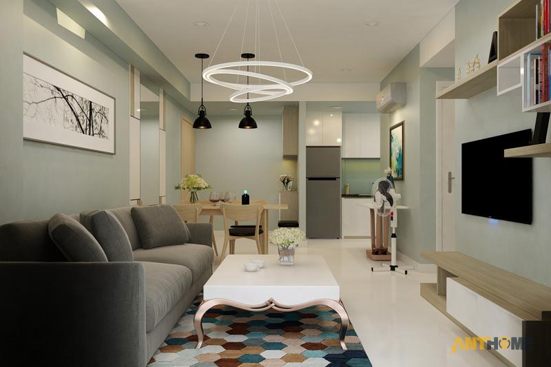 Thiết kế nội thất căn hộ Masteri Thảo Điền 65m2 3