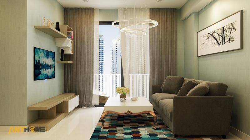 Thiết kế nội thất căn hộ Masteri Thảo Điền 65m2 4