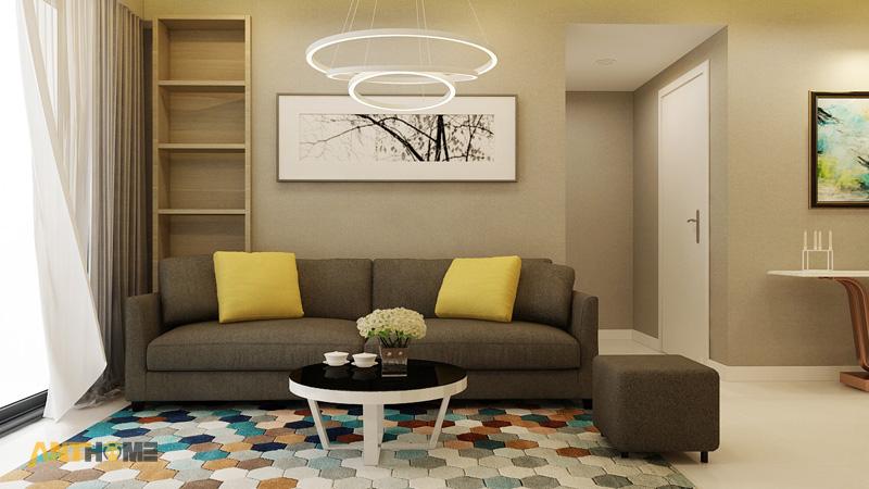 Thiết kế nội thất căn hộ Masteri Thảo Điền 70m2 1