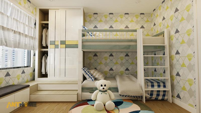 Thiết kế nội thất căn hộ Masteri Thảo Điền 70m2 10