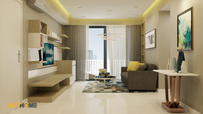 Thiết kế nội thất căn hộ Masteri Thảo Điền 70m2 3