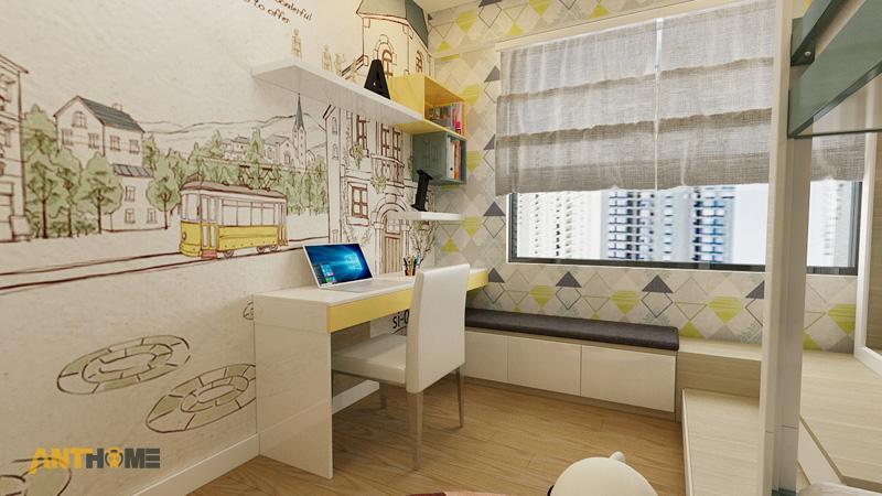 Thiết kế nội thất căn hộ Masteri Thảo Điền 70m2 9