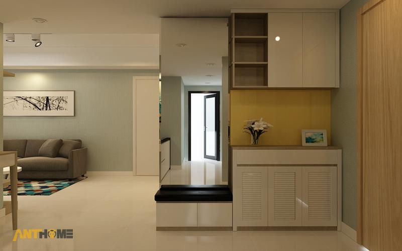 Thiết kế nội thất căn hộ Masteri Thảo Điền 90m2 2