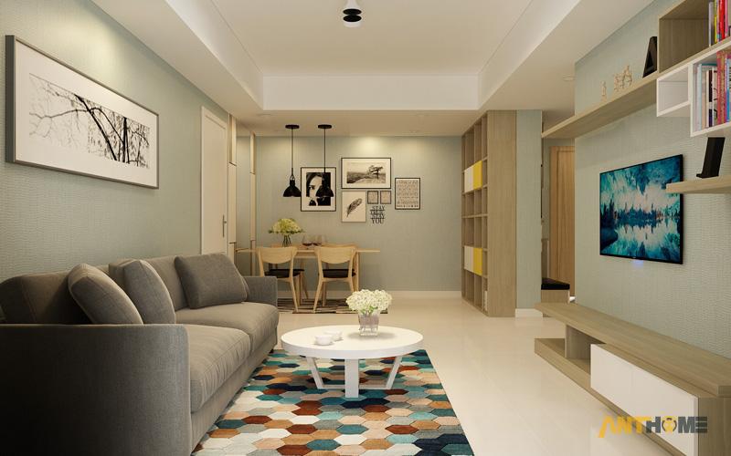 Thiết kế nội thất căn hộ Masteri Thảo Điền 90m2 3