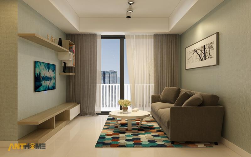 Thiết kế nội thất căn hộ Masteri Thảo Điền 90m2 4