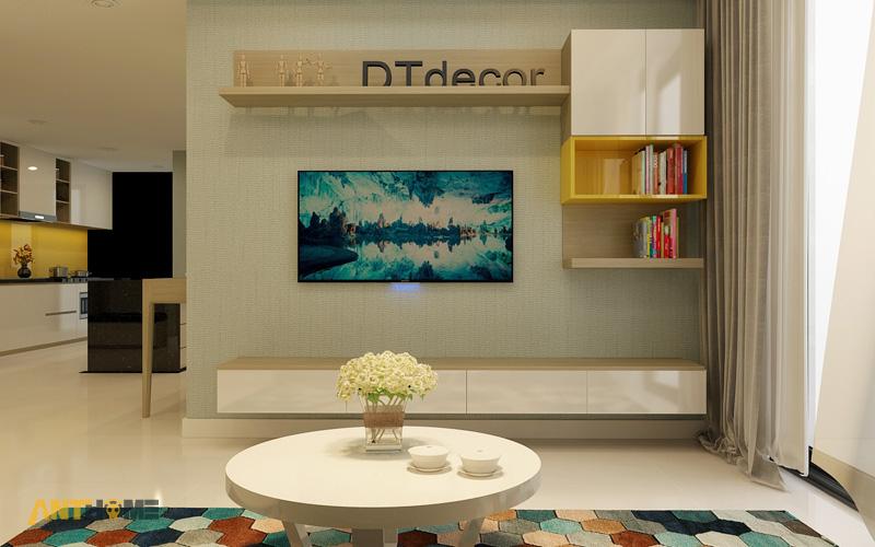 Thiết kế nội thất căn hộ Masteri Thảo Điền 90m2 5