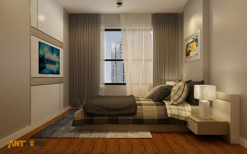 Thiết kế nội thất căn hộ Masteri Thảo Điền 90m2 10