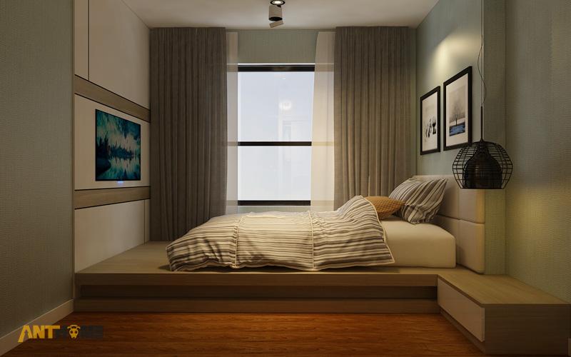 Thiết kế nội thất căn hộ Masteri Thảo Điền 90m2 12