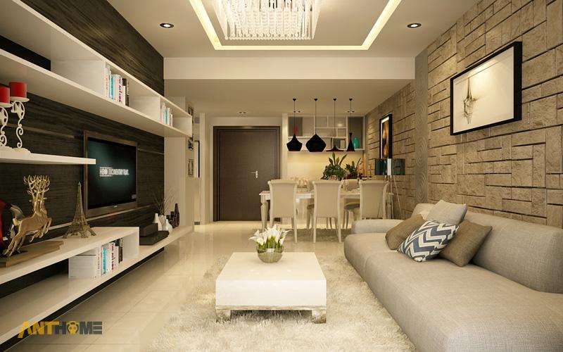 Thiết kế nội thất căn hộ Sunrise City 1 phòng ngủ 3