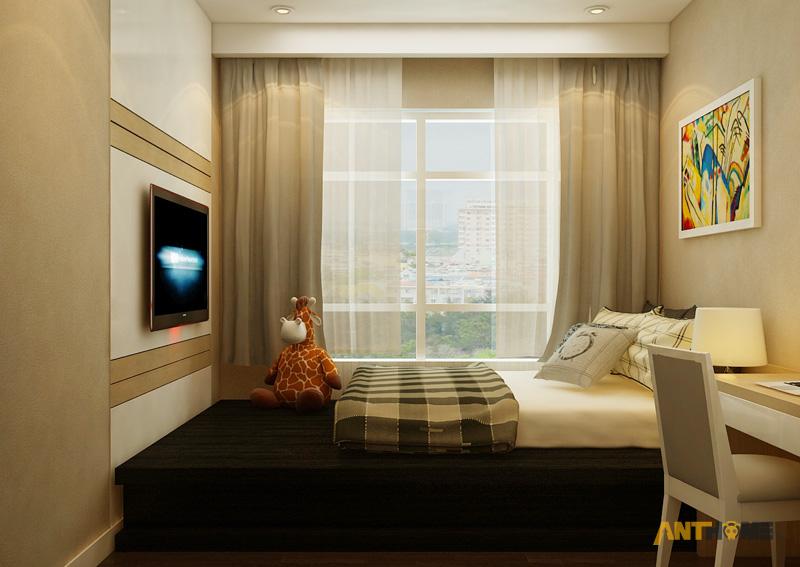 Thiết kế nội thất căn hộ Sunrise City 2 phòng ngủ 11