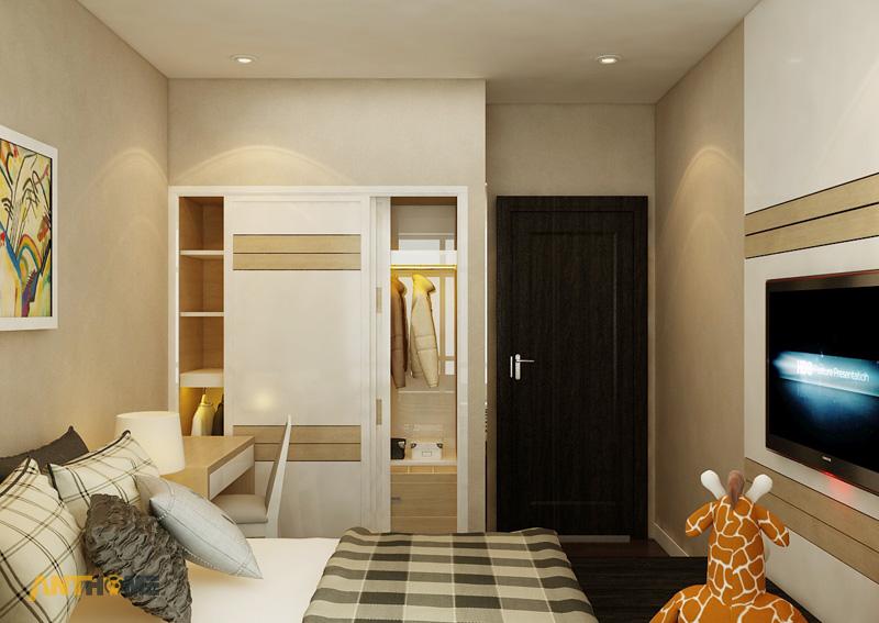 Thiết kế nội thất căn hộ Sunrise City 2 phòng ngủ 12
