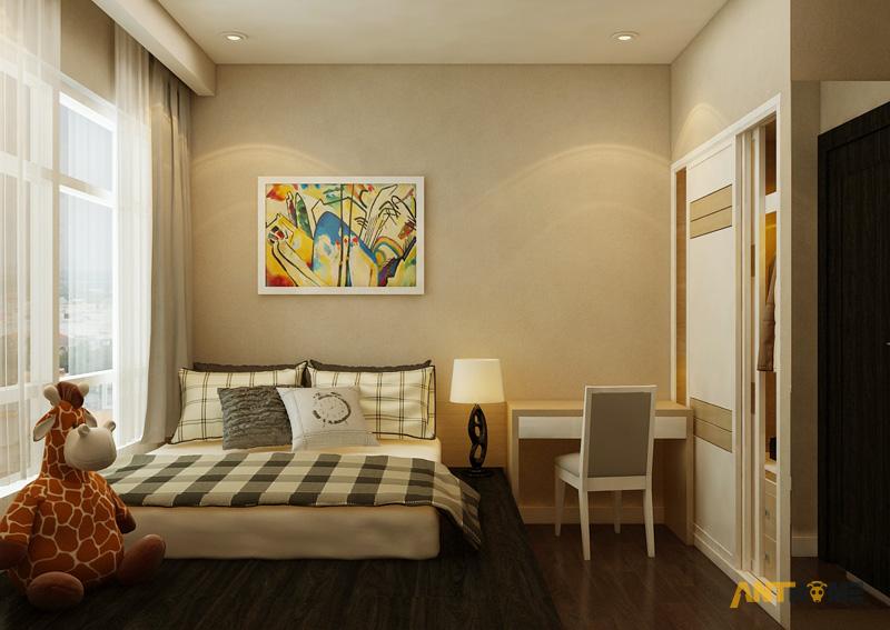 Thiết kế nội thất căn hộ Sunrise City 2 phòng ngủ 13