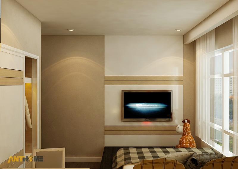 Thiết kế nội thất căn hộ Sunrise City 2 phòng ngủ 14