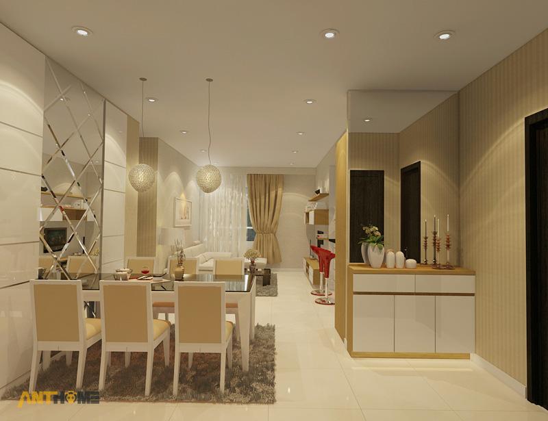 Thiết kế nội thất căn hộ Sunrise City 2 phòng ngủ 2