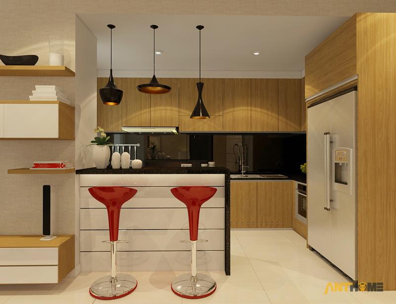 Thiết kế nội thất căn hộ Sunrise City 2 phòng ngủ 4