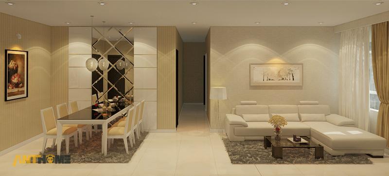 Thiết kế nội thất căn hộ Sunrise City 2 phòng ngủ 5
