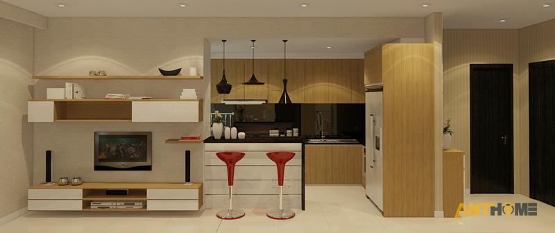 Thiết kế nội thất căn hộ Sunrise City 2 phòng ngủ 6