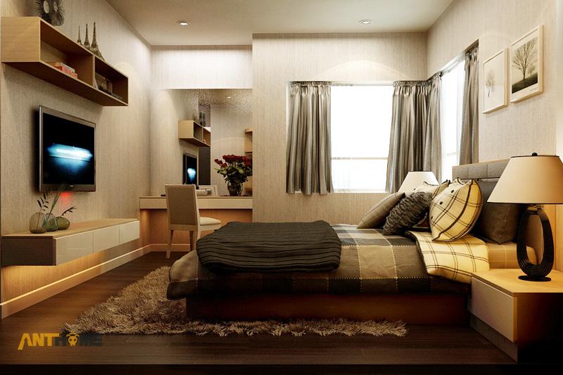 Thiết kế nội thất căn hộ Sunrise City 2 phòng ngủ 9
