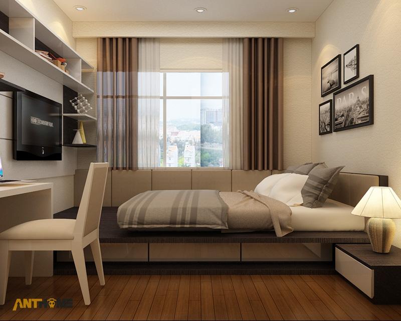 Thiết kế nội thất căn hộ Sunrise City 3 phòng ngủ 7