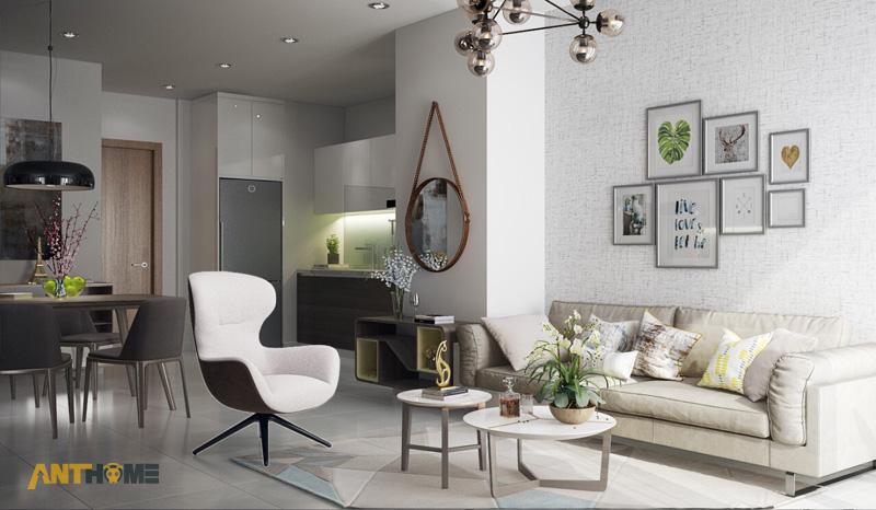 Thiết kế nội thất nhà phố Camellia Garden 2