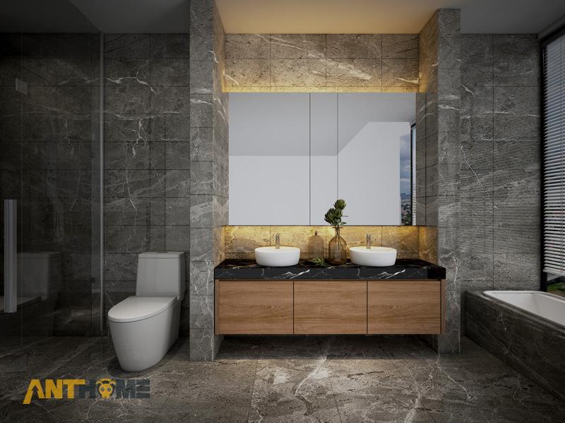 Thiết kế nội thất nhà phố đẹp, ấn tượng quận Tân Bình 10