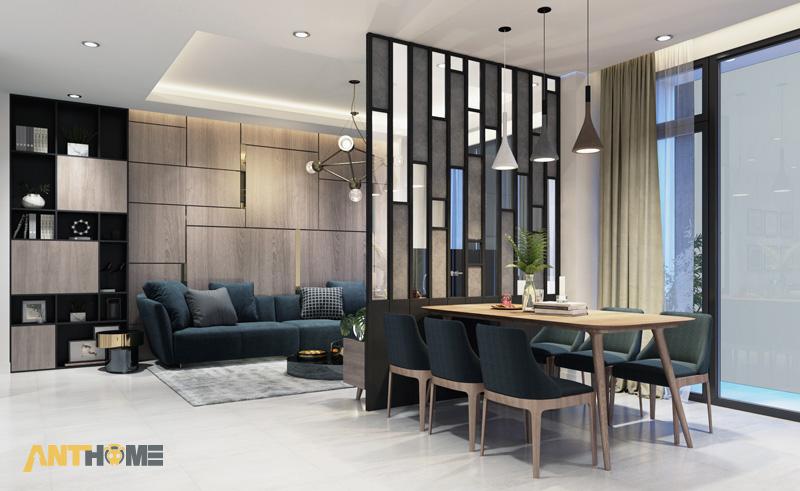 Thiết kế nội thất nhà phố đẹp, ấn tượng quận Tân Bình 2