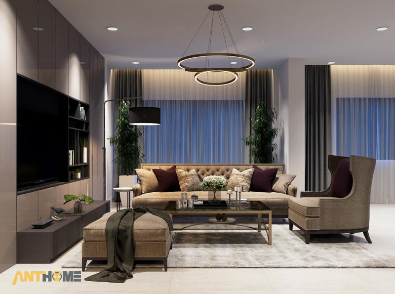 Thiết kế nội thất nhà phố đẹp, ấn tượng quận Tân Bình 19