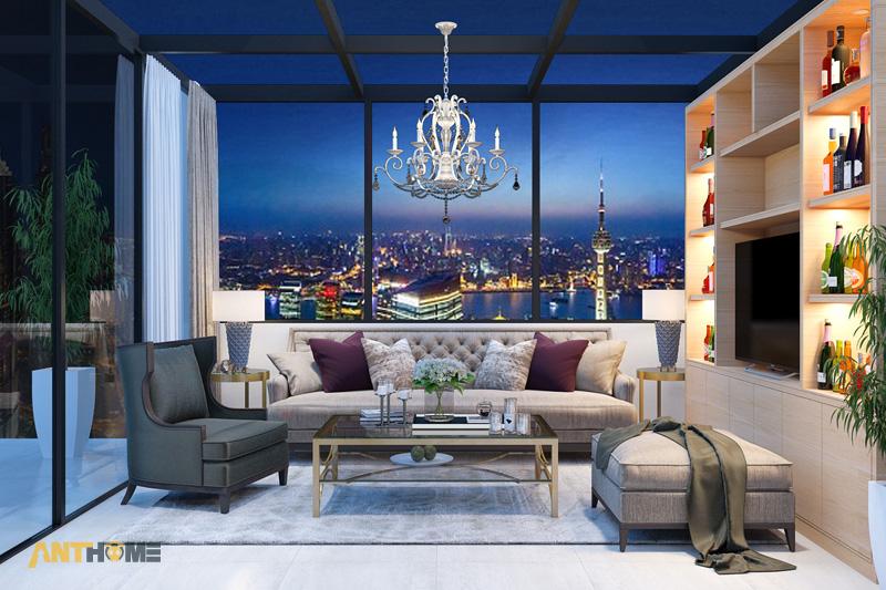 Thiết kế nội thất nhà phố đẹp, ấn tượng quận Tân Bình 20