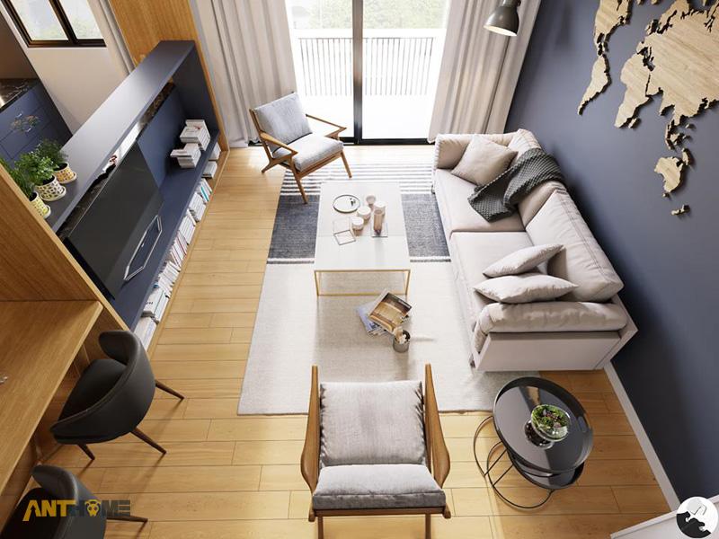 Thiết kế nội thất nhà phố phong cách hiện đại quận Bình Thạnh 3