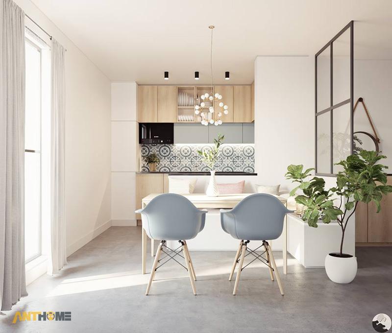 Thiết kế nội thất nhà phố phong cách hiện đại quận Bình Thạnh 6