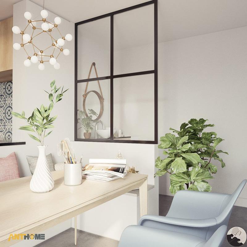 Thiết kế nội thất nhà phố phong cách hiện đại quận Bình Thạnh 7