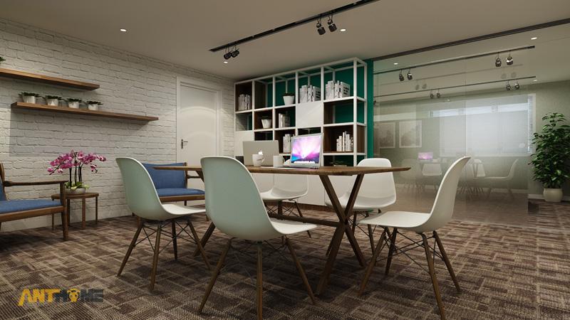 Thiết kế nội thất văn phòng Yea Group đẹp, chuyên nghiệp 2