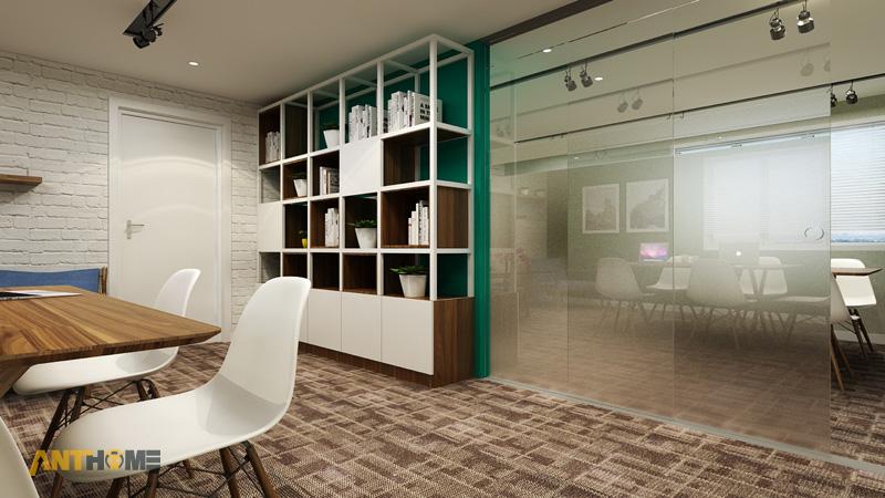 Thiết kế nội thất văn phòng Yea Group đẹp, chuyên nghiệp 5