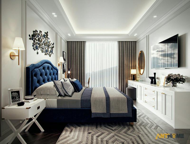 Thiết kế nội thất căn hộ Estella Heights 120m2 12