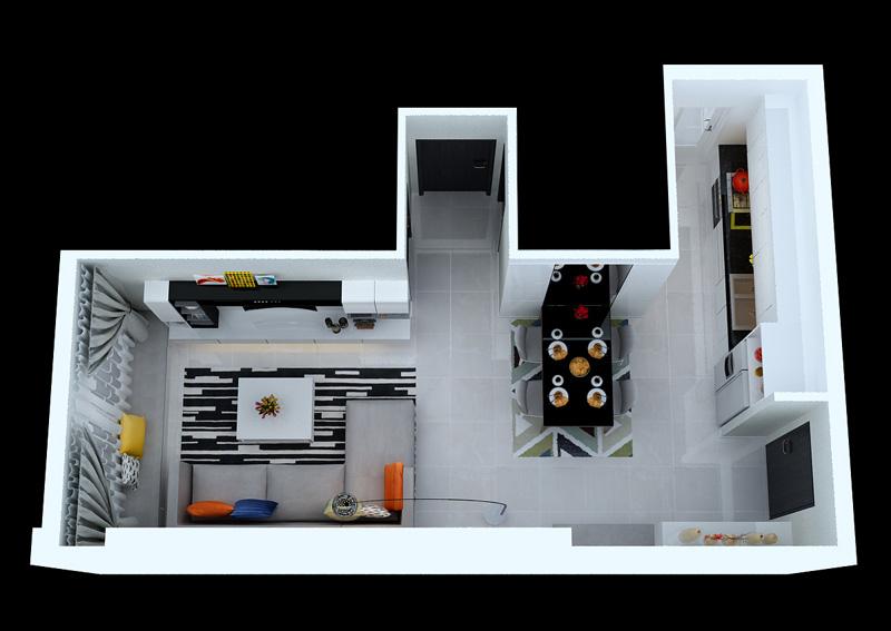 Tính diện tích căn hộ: Tim tường hay Thông thuỷ 2